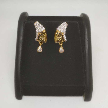 22 K Gold Fancy Earring. NJ-E0931