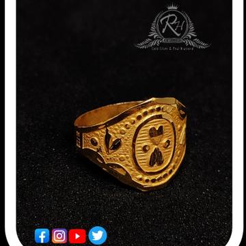 22 carat gold designed kids rings RH-KR432