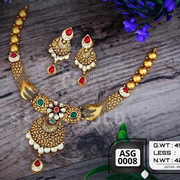 916 gold antiqe set sgs-0001