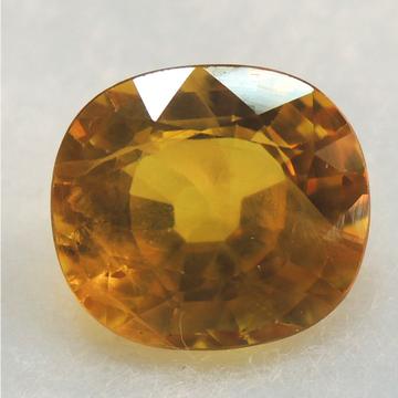 5.35ct oval natural yellow-sapphire (pukhraj) KBG-S014