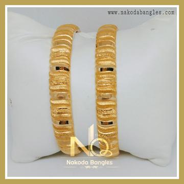 916 Gold Patra Bangles NB-236