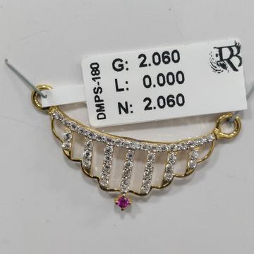 916 Diamond mangalsutra pendant DMPS180