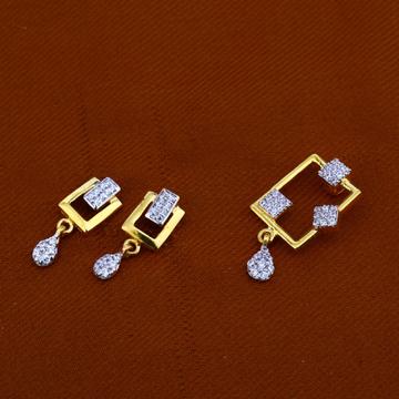 916 Gold Exclusive Hallmark Pendant Set FPS97