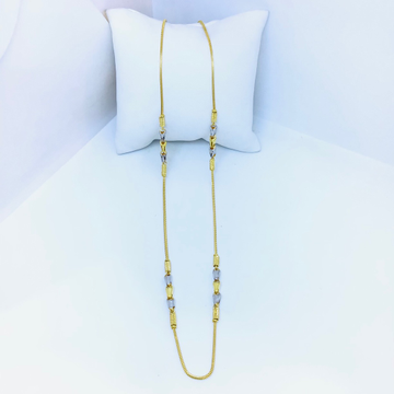 DESIGNED GOLD FANCY CHAIN FOR LADIES by