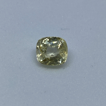 3.30ct square yellow yellow-sapphire-pukhraj by