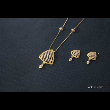 22 K Gold Fancy Dokiya Set. NJ-P01153