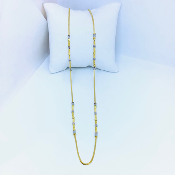 FANCY GOLD CHAIN FOR LADIES by