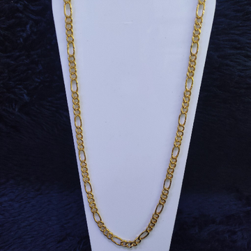 22KT/916 Yellow Gold Round Raimi Chain GCH-152
