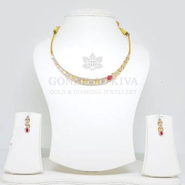 18kt gold necklace set gnl4 - gft12