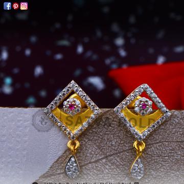 916 gold earrings sge-0035