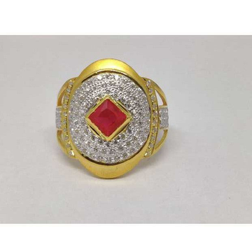 22k Gents Fancy Gold Colour Ring Gr-26783