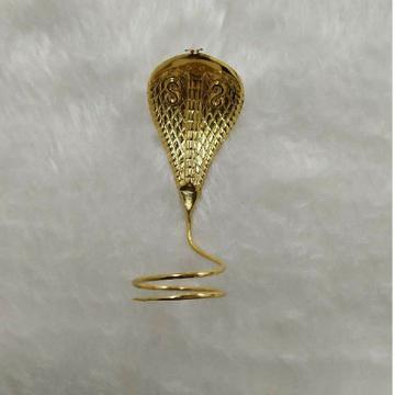 916 Gold Shivling Goga Maharaj Ring