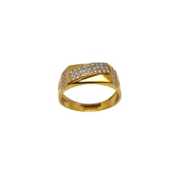 22K Gold Modern Gents Ring MGA - GRG0255