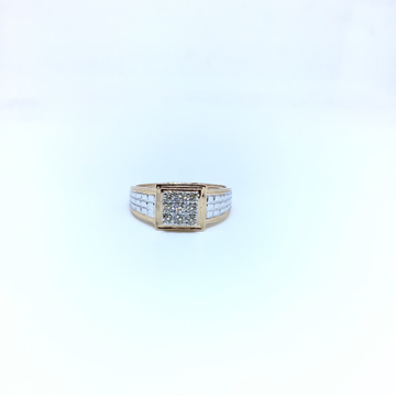REAL DIAMOND FANCY RING by