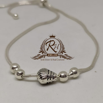 92.5 silver stylish ladies bolls bracelet Rh-Ly973