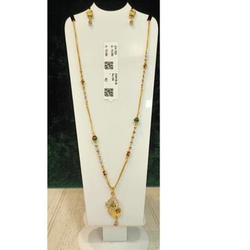 916 Gold Hallmark Dokiya Pendant Set