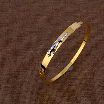 916 Designer Gold Mens Bracelet Kada MKB17
