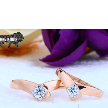 18kt Rose Gold Couple Ring RH-cPR 003