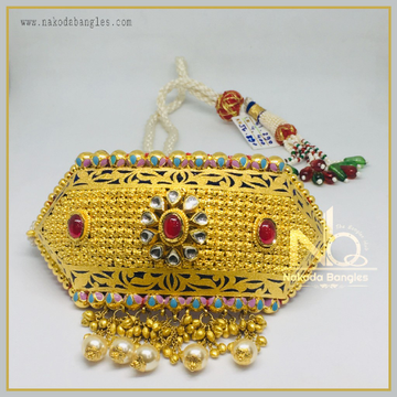 916 Gold Antique Bajubandh NB-361