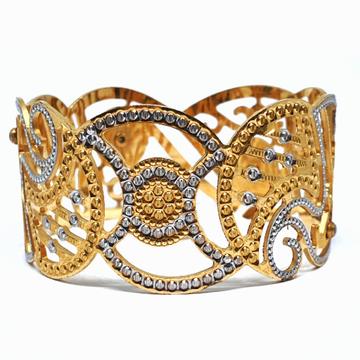One gram Gold Forming cnc bracelet mga - bre0025