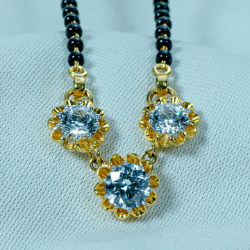 diamond Mangalsutra by
