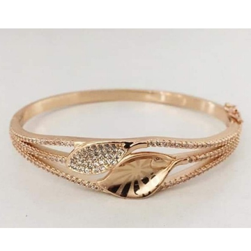 18 carat rose gold woman kada