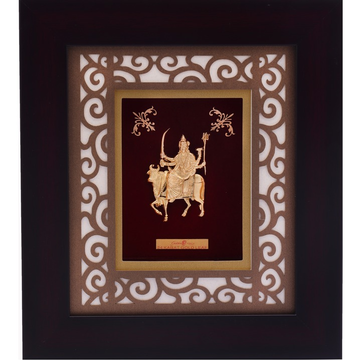 22KT Gold Plated Umiya Mata Photo Frame AJ-22