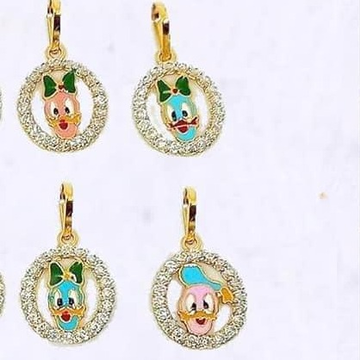 916 Gold Cartoon Bacha Pendal RH-CBP23