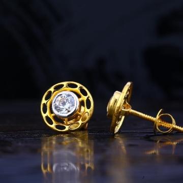 22 carat gold fancy exclusive ladies earrings RH-L...