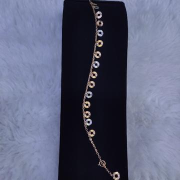 18KT/750 Rose Gold Fancy Drimi Bracelet GLU-183