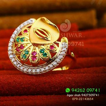 Dazzeld fancy Cz Ladies Ring 916 LRG -0202