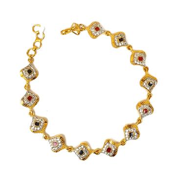 1 gram gold forming bracelet mga - bre0041