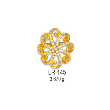 22KT-Cz-Gold-Fancy-Ladies-Ring-LR-145