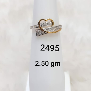 Heart shaped ladies ring by