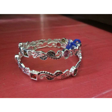 Different Style Peacock Vaccum Casting Pis Kids(Babby,Baccha,Children) Semi Micrositting Bangle(Kadli,Kangan,Kada,Patla) Ms-2604