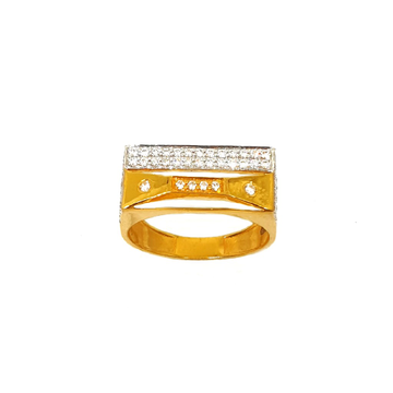 22K Gold Designer Gents Ring MGA - GRG0127