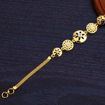 22Kt Gold ladies Stylish Bracelet LB253