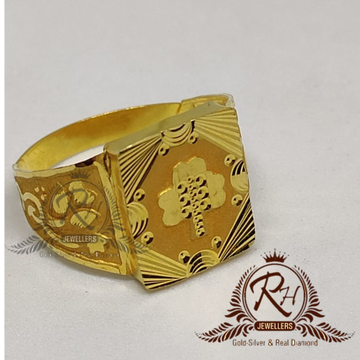 22 carat gold latest gents rings RH-GR901