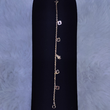 18KT/750 Rose Gold Modern Kriyana Kids Bracelet GLU-181