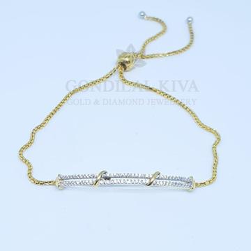 18kt gold bracelet gbr13