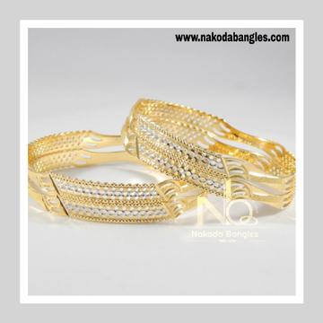 916 Gold CNC Bangles NB - 712