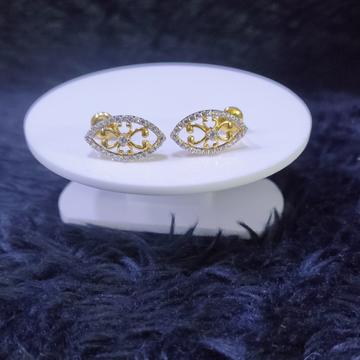 22KT/916 Yellow Gold Brasi Earrings For Women