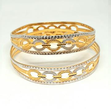 One gram gold forming bangles  mga - gf0051