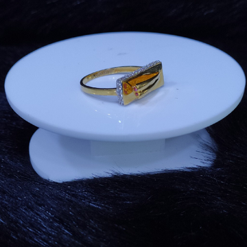 22KT/916 Yellow Gold Eastre Ring For Women