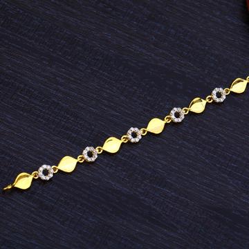 Ladies Gold Bracelet-LB186