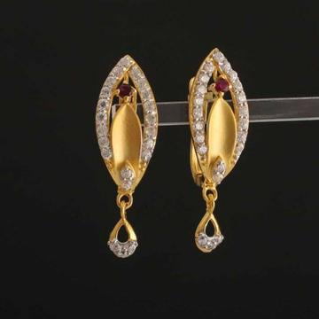 22k Gold Diamond Buti by
