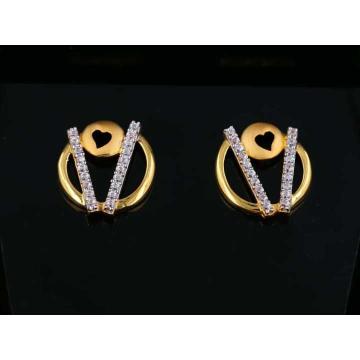 22 K Gold Fancy Earring. NJ-E01159