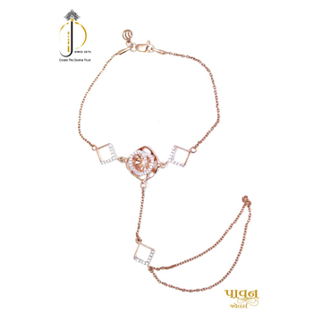 18KT Rose Gold Hath Panjo Wedding Collection For L... by