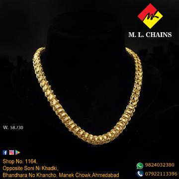 22KT Gold Hallmarked Chain ML-C16