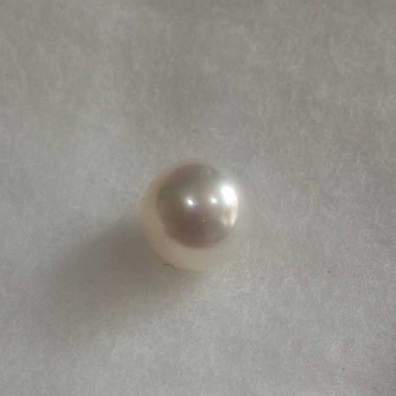 3.05ct round white pearl-moti by